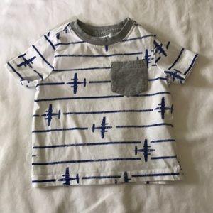 Gymboree short sleeved t shirt, 6-12 months